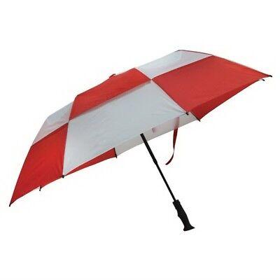 25 Custom Printed Fiberglass Folding Golf Umbrellas, Bulk Pr