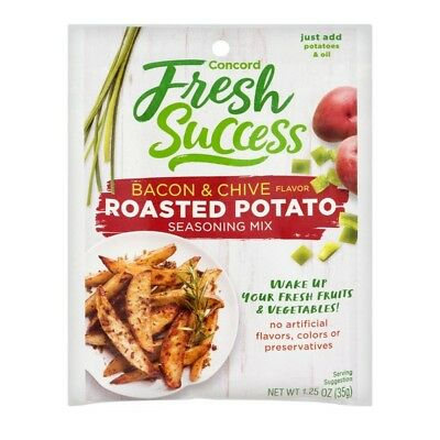Concord Foods, Roasted Potato Bacon & Chive Seasoning Mix, 1.25 oz (Pack Of 3)