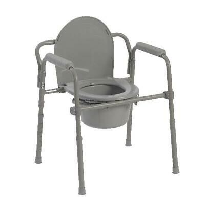 TOILET MEDICAL CHAIR PORTABLE Commode Adult Potty Chair Fold