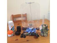 biOrb 15l tank with food / accessories