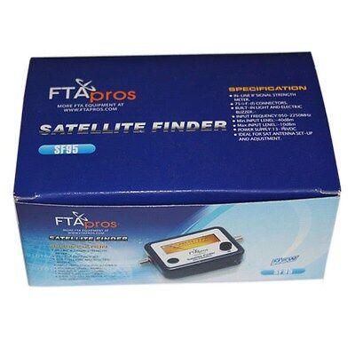 SATELLITE FINDER METER LOCATOR FOR DIRECTV DISH NETWORK