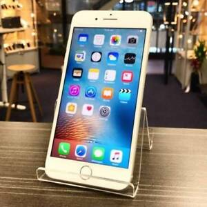 MINT CONDITION IPHONE 7 PLUS 128GB SLIVER UNLOCKED WARRANTY INVOC Pacific Pines Gold Coast City Preview