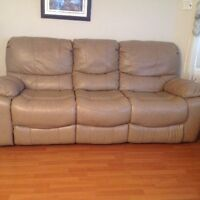Recliner sofa,loveseat and chair