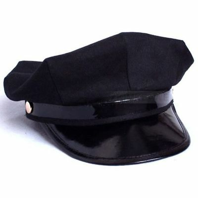 Octagon Yacht Captain Skipper Sailor Boat Police Sheriff Hat Cap Party - Police Hat Costume