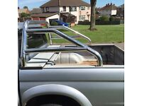 Mitsubishi l200 roof bars roll bar