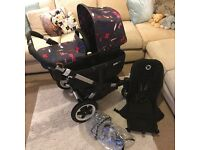 Bugaboo Donkey Pushchair v1.1 bundle Stroller double