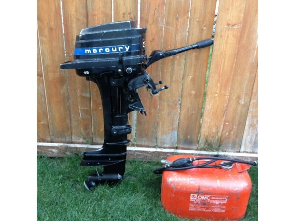 Mercury mercury 4 5 hp for sale canada for Mercury 2 5 hp outboard motor for sale