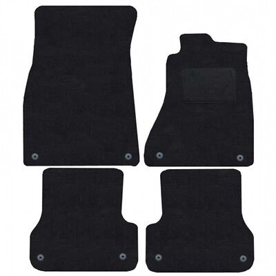 Audi A7 Tailored Car Mats 2011 Onwards Clips In All Mats   Black Part No 2228