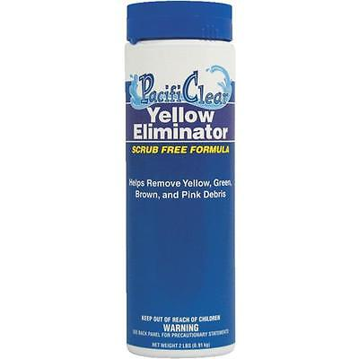 (PacifiClear 2 Lb. Yellow and Cloudy Water Eliminator Granule Pool Spa Hot Tub)