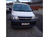 Toyota Hiace Powervan D4D 2009 White