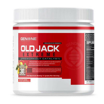 (Genone Labs OLD JACK Extreme 30 servings Maximum Strength Fruit Punch)