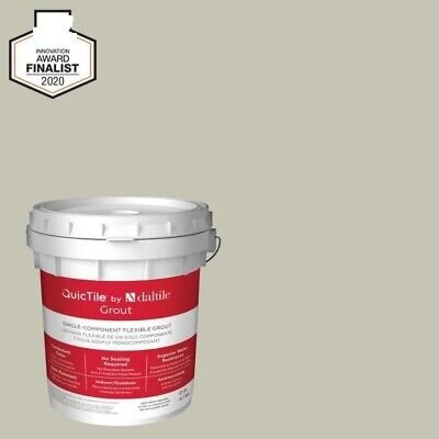 Daltile QuicTile D196 Mist 9 lb. Pre-Mixed Urethane Grout