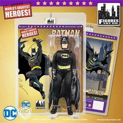 "BATMAN 8"" Figure Mego-Figures Toy Co. **BUY ANY 2 SHIP FREE!"