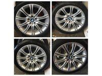 """18"""" BMW MV2 ALLOY WHEELS & TYRES"""