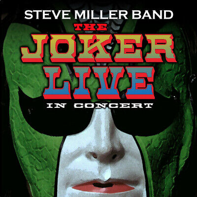 The Joker Live in Concert by Steve Miller Band (Guitar) (Vinyl,