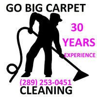 $79 3 ROOMS CARPET CLEANED OR A  3 SEAT SOFA CLEANED