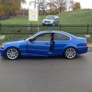 2005 BMW 325Ci Coupe Blue - Safetied & E-Tested Cambridge Kitchener Area image 8
