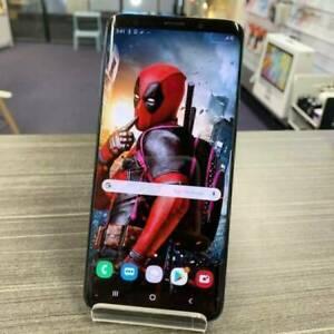 Galaxy S9 64G Black GREAT COND. AU MODEL INVOICE WARRANTY UNLOCKED Ashmore Gold Coast City Preview