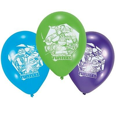 Ninja Turtles Luftballons, 10er, 25,4cm (Ninja Turtles Ballon)