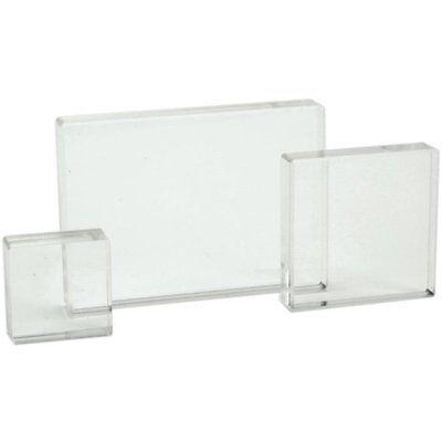 Acrylic Stamps - Apple Pie Memories - Acrylic Stamp Blocks - Set of 3 - Useful Sizes