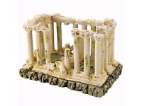 *NEW* Fish Tank / Aquarium Ornament - Roman Ruins / Grecian Temple Building