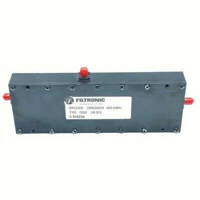 400mhz Uhf Diplexer Duplexer Crossover Filtronic Lm013