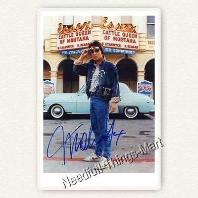 Michael J. Fox - Back To The Future / Teen Wolf -  Autogrammfotokarte [AK04] 