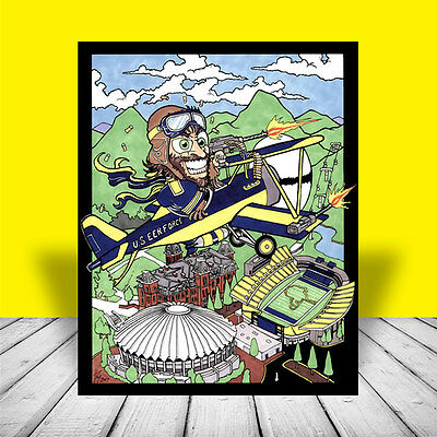 New West Virginia Mountaineers  Eer Force  Poster Art  Wvu Football Basketball