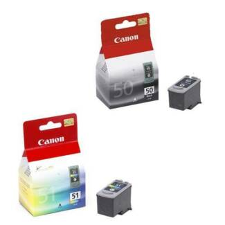 Canon PG50 CL51 Combo Ink Cartridges PG-50 Original Sydney City Inner Sydney Preview