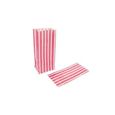 Candy Stripe Sweet | Popcorn | Pick n Mix  | Paper Bags 4x2x15