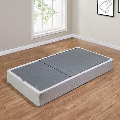Twin Full Queen King Box Spring Folding Metal Portable Bed Foundation Fold 7.5 Metal Folding Bed