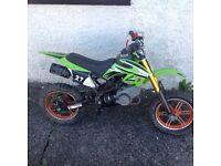 50cc mini motocross bike