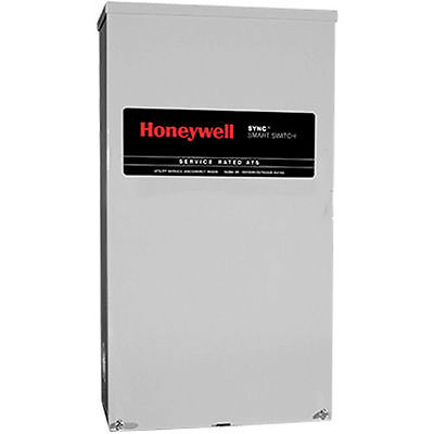Honeywelltrade 200-amp Synctrade Smart Automatic Transfer Switch W Power...
