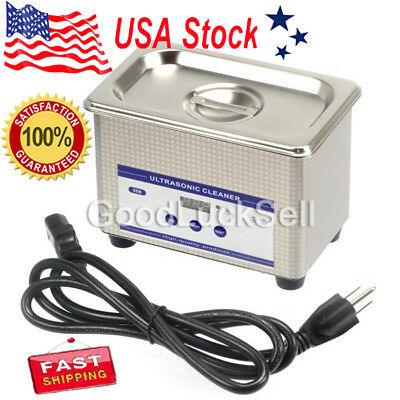 Dental Ultrasonic Cleaner Ring Bath Digital Timer Industrial Cleaning Equipment