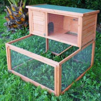Brand New Double Storey Rabbit Hutch with Extension Run Oakleigh Monash Area Preview