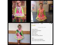 Irish dance dress aged 8-10