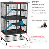 Ferret Nation Double Level Ferret Cage For Sale