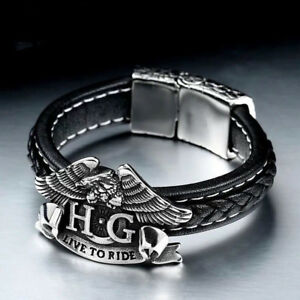 LOTS OF HARLEY DAVIDSON BRACELETS & RINGS