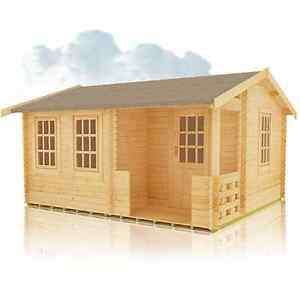 GYLES 44MM LOG CABIN FOR SALE VIEW THE RANGE OF LOG CABINS FREE DELIVERY  UK