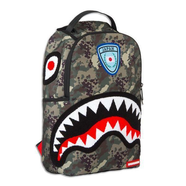 OFFENDED SHARK BACKPACK ZAINO// BAGS SPRAYGROUND