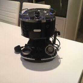 Delongin coffee machine