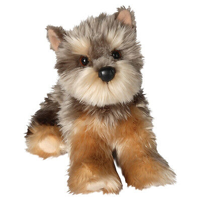 "Yorkshire Terrier Yorkie Plush Dog Toy 12"" Stuffed Animal So"