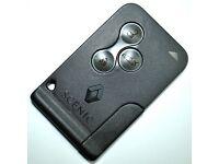 Megane car key 3 button only £60