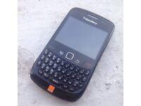 Blackberry curve 8520 black mobile phone