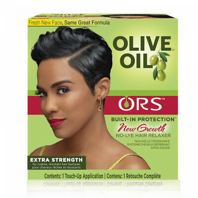 ORS Olive Oil No Lye Hair Relaxer Coarse Resistant Texture - Extra Strength