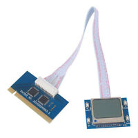 New LCD Screen Motherboard Tester Diagnostic Card for PC Laptop