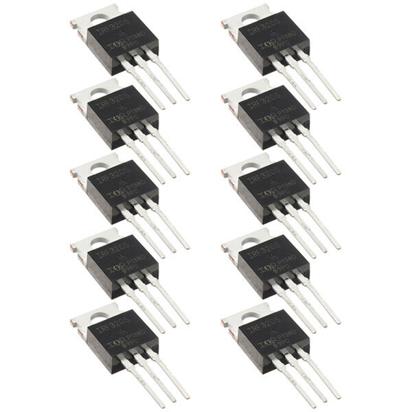 10pc IRF3205 IRF3205PBF Fast Switching Power Mosfet Transistor / N Channel  S6