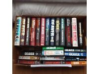 24 x Jeffery Deaver books