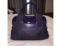 Purple Radley Bag