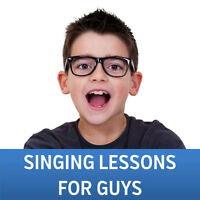 Singing Lessons for Guys